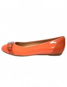 Balerini dama, piele naturala, marca Geox, Cod D52M4B-11-06, culoare portocaliu