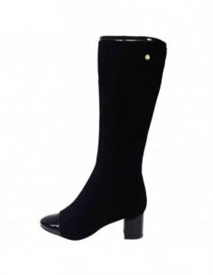 Cizme dama, piele naturala, marca Botta, Cod 1015-01-05, culoare negru