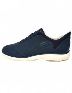 Pantofi sport dama, piele naturala, marca Geox, Cod D621EC-42-06, culoare albastru