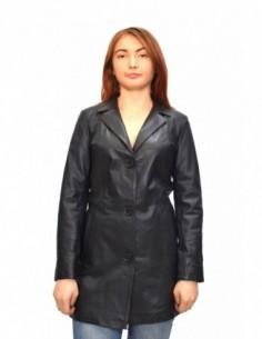 Haina dama, din piele naturala, marca Kurban, Z9-01-95, negru