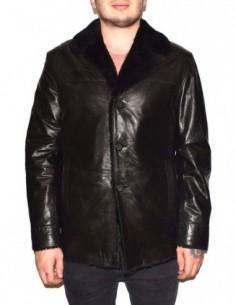 Cojoc barbati, blana naturala, marca Kurban, Cod A-71-01-95, culoare negru