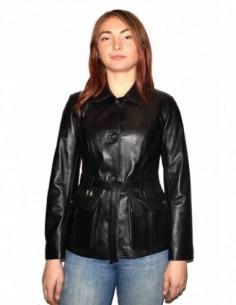 Haina dama, din piele naturala, marca Kurban, Z8-01-95, negru