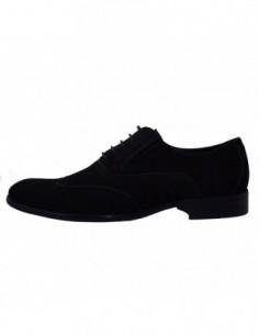 Pantofi eleganti barbati, din piele naturala, marca Saccio, 072822C-01-17, negru