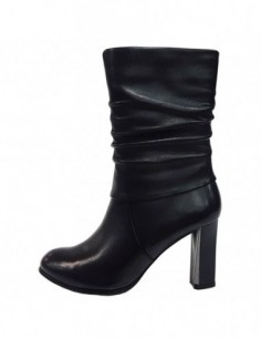 Cizme dama, piele naturala, marca Deska, Cod 28275-01-33, culoare negru