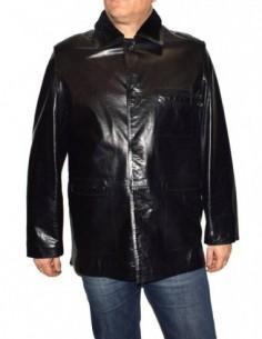 Cojoc barbati, piele naturala, marca Kurban, Cod 221-01-95, culoare negru