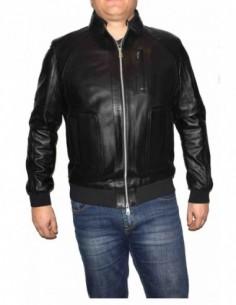 Haina barbati, blana naturala, marca Kurban, Cod 301N-01-95, culoare negru