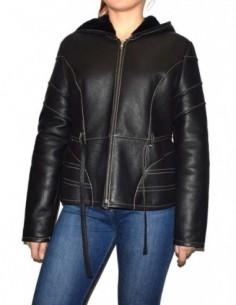 Cojoc dama, piele naturala, marca Kurban, Cod 20K-01-95, culoare negru