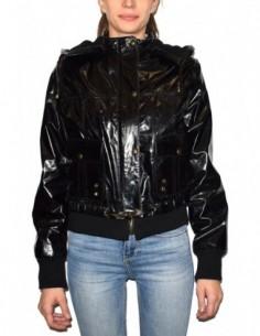 Haina dama, piele naturala, marca Kurban, Cod 14-01-95, culoare negru