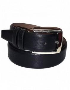 Curea barbati, piele naturala, marca Bond, Cod 3900-1, culoare negru