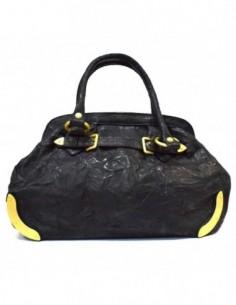 Poseta dama, piele naturala, marca Meralli, Cod 9332-01-20, culoare negru
