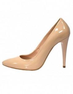 Pantofi de mireasa, piele naturala, marca Botta, Cod 632-B6-M2-05, culoare natur