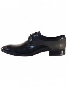 Pantofi eleganti barbati, piele naturala, marca Conhpol, Cod C00C-5026-ZB24-01-40, culoare negru