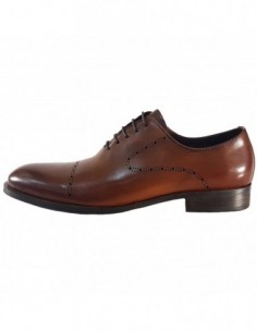 Pantofi eleganti barbati, piele naturala, marca Alberto Clarinii, Cod A589-52B-02-113, culoare maro