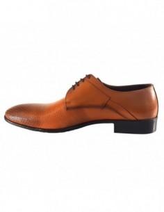 Pantofi eleganti barbati, piele naturala, marca Otter, Cod ZG10816-16-79, culoare camel