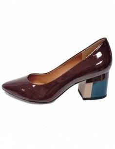 Pantofi dama, piele naturala, marca Epica, Cod 7456-19-30-92, culoare bordo