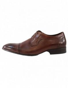 Pantofi eleganti barbati, piele naturala, marca Saccio, Cod 369-60B-02-17, culoare maro
