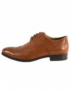 Pantofi eleganti barbati, din piele naturala, marca Geox, U44W3B-16-06, camel