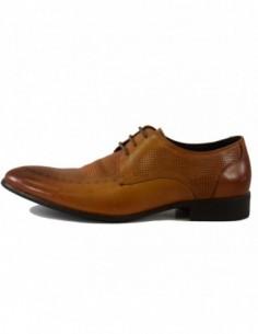 Pantofi eleganti barbati, piele naturala, marca Saccio, Cod A337-62C-16-17, culoare coniac