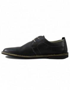 Pantofi barbati, piele naturala, marca Marco Santini, Cod A10E6028-01-28, culoare negru