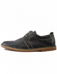 Pantofi barbati, piele naturala, marca Marco Santini, Cod A10E6028BL-42-28, culoare bleumarin