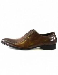 Pantofi eleganti barbati, piele naturala, marca Eldemas, Cod A063-103-02-24, culoare maro
