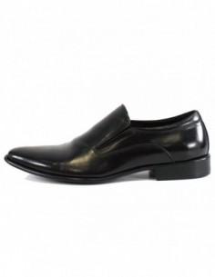 Pantofi eleganti barbati, piele naturala, marca Saccio, Cod 211103-01-17, culoare negru