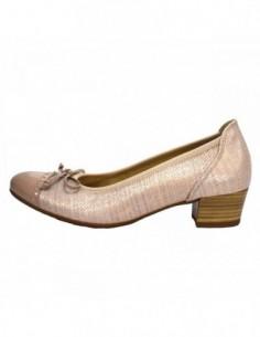 Pantofi dama, piele naturala, marca Gabor, Cod 62203-C5-J0-30, culoare roz pal