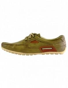 Pantofi eleganti barbati, piele naturala, marca Krisbut, Cod 4613-3-1-14-119, culoare bej