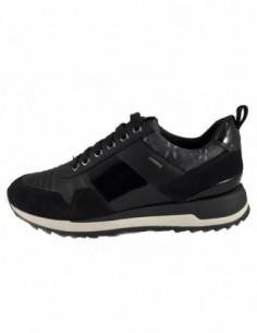Pantofi sport dama, piele naturala, marca Geox, Cod D643FA-01-06, culoare negru