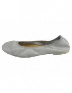 Balerini dama, piele naturala, marca Formenterra, Cod A5G561-18-29, culoare argintiu