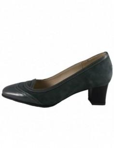 Pantofi dama, piele naturala, marca Raxela, Cod 217-14-88, culoare gri