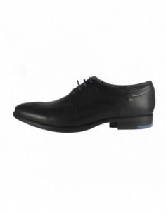 Pantofi eleganti barbati, piele naturala, marca Marco Santini, Cod A6G2947N-01-28, culoare negru