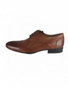 Pantofi eleganti barbati, piele naturala, marca Gino Rossi, Cod MPC764-16-32, culoare camel