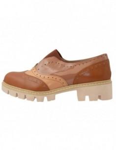Pantofi dama, din piele naturala, marca Kristin Style, 287-1-03-16-83, camel