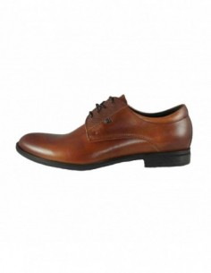 Pantofi eleganti barbati, piele naturala, marca Conhpol, Cod C00C-5734-16-40, culoare maro