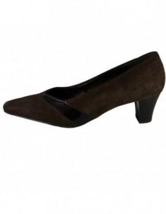 Pantofi dama, piele naturala, marca Jenny by Ara, Cod 62847-02-78, culoare maro