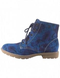 Ghete dama, piele naturala, marca s.Oliver, Cod 45217-07-15, culoare albastru