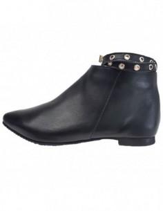 Ghete dama, piele naturala, marca Botta, Cod 914-01-05, culoare negru