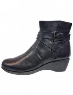 Ghete dama, piele naturala, marca Flexx, Cod 2402-29-01-18, culoare negru