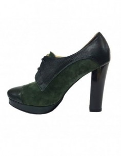 Botine dama, piele naturala, marca Botta, Cod 486-06-05, culoare verde