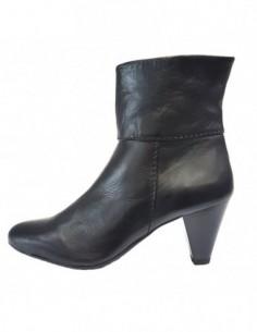 Botine dama, piele naturala, marca Flexx, Cod 650-01-18, culoare negru