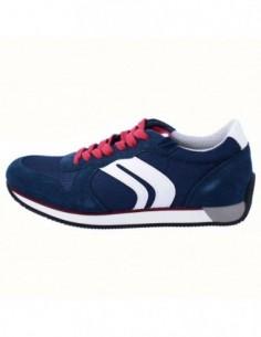 Adidasi barbati, textil si piele, marca Geox, Cod U742LC-C4000-42, culoare bleumarin