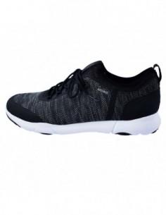 Adidasi barbati, textil, marca Geox, Cod U826AB-C9999-1, culoare negru