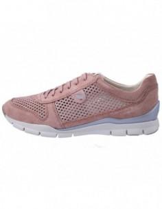 Adidasi dama, piele naturala, marca Geox, Cod D62F2F-C8056-10-06, culoare roz