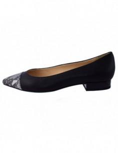 Balerini dama, piele naturala, marca Geox, Cod D829BB-C0210-01-06, culoare negru