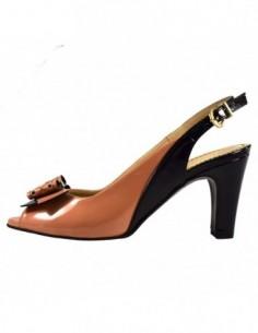 Sandale dama, din piele naturala, marca Guban, 3139-37-07, roz diverse