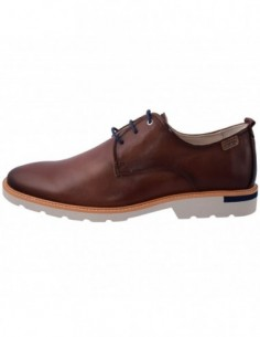 Pantofi barbati, piele naturala, marca Pikolinos, Cod M9J-4201-02-21, culoare maro