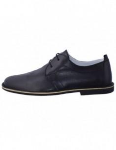 Pantofi barbati, piele naturala, marca Marco Santini, Cod A10K6028N-01-28, culoare negru