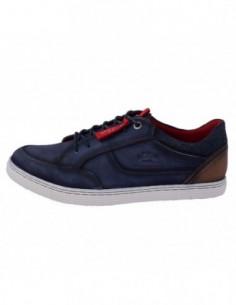 Pantofi barbati, piele naturala, marca s.oliver, Cod 5-13629-20-42, culoare bleumarin