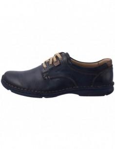 Pantofi barbati, piele naturala, marca Krisbut, Cod PBK 4590-3-1-42, culoare bleumarin